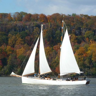 Fall Foliage Schooner Sail