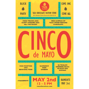 4th Annual Cinco de Mayo Block Party at Taza Chocolate