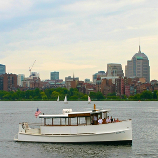 Bridges and Locks of the Charles River aboard Yacht Beacon