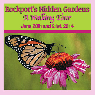Rockport Garden Club's Hidden Gardens Tour 2014
