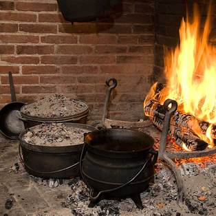 Open Hearth Cooking Demonstration: What's for Dinner?