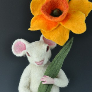 Fabulous Felted Sculpture
