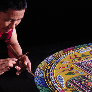 Healing The Earth: Mystical Arts of Tibet Sand Mandala