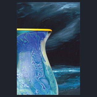 """Layers and Light: Where Sky Meets Sea"" Artist Reception"