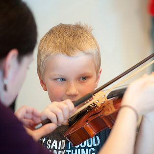 Free Family Concerrt & Instrument Petting Zoo