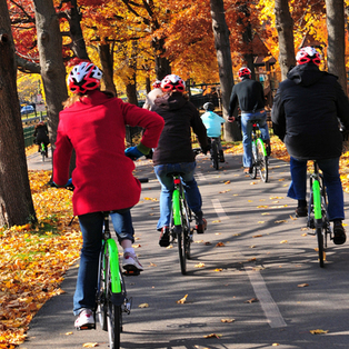 Emerald Necklace and Fall Foliage tour