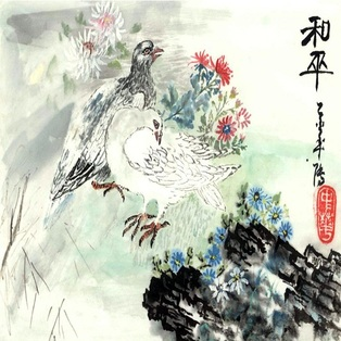 Traditional Chinese Brush Painting Workshop with Zhong-hua Lu ~ Materials Included