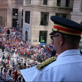 Fourth of July Parade & Reading of the Constitution at Old State House
