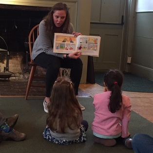 "Storytime at the Museum, ""Building"""