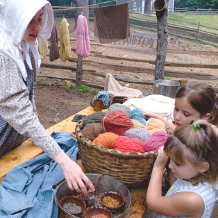 Wool Days at Old Sturbridge Village