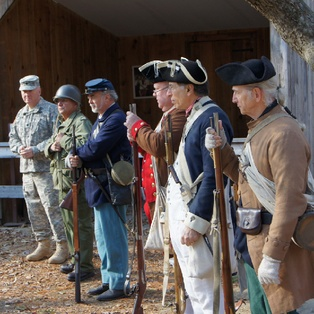 Veterans' Day at Old Sturbridge Village