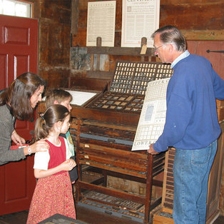 Historic Trade Demonstration: Letterpress Printing with Carl Darrow