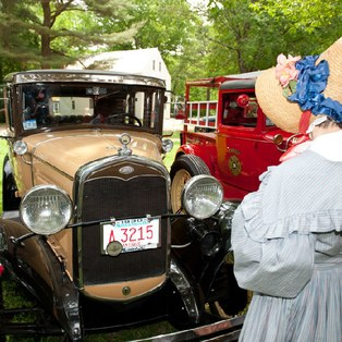 Antique Car Rally at Old Sturbridge Village