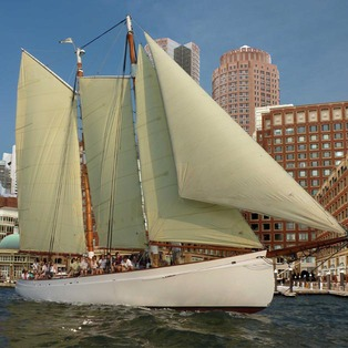Boston Harbor Islands Picnic Sail on Adirondack III