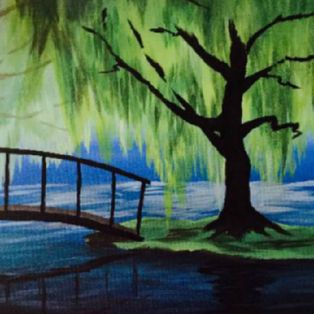 Paint Nite at Bertucci's Taunton