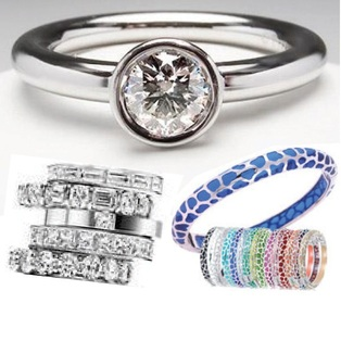 Unusual Wedding Rings and More