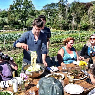 Farm. Field. Sea. An Island Culinary Adventure with Chef/Farmer Chris Fischer