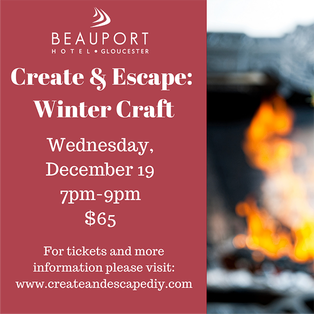 Winter Craft Night with Create and Escape