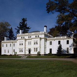 Lyman Estate Mansion and Greenhouses, A Historic New England Property