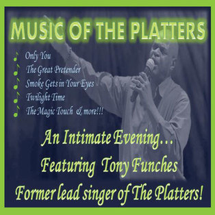 Tony Funches - Former Lead Singer of The Platters
