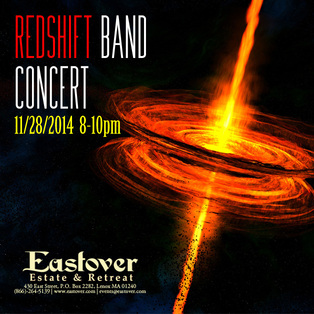 Thanksgiving Weekend Friday night Concert by Lonny Jarrett Redshift Fusion