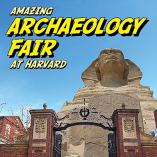 Amazing Archaeology Fair at Harvard