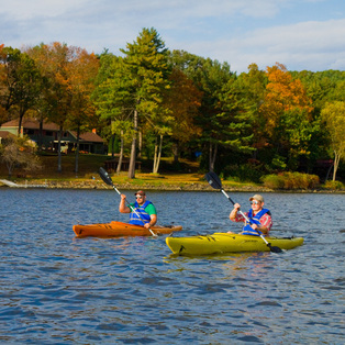 Autumn Afternoon Paddle