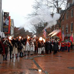 Salem Muster. First Muster. Anniversary of First Muster