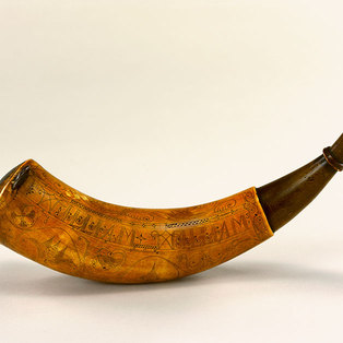 Engraved Powder Horns from the French and Indian War and the American Revolution: The William H. Guthman Collection
