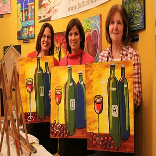 Paint 'n Sip: Operation Delta Dog Fundraiser