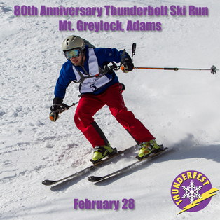 80th Anniversary Thunderbolt Ski Run
