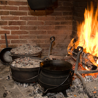 Open Hearth Cooking Demonstration: From Hearth to Table