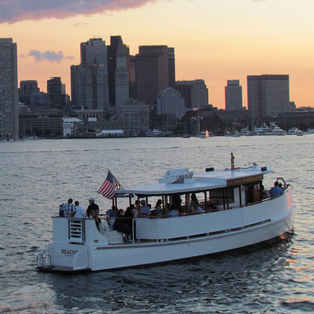 Sunset Cruise in Boston Harbor aboard Yacht Beacon