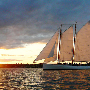 Sunset Sail on schooner Adirondack III