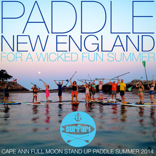 CAPE ANN FULL HARVEST MOON STAND UP PADDLE