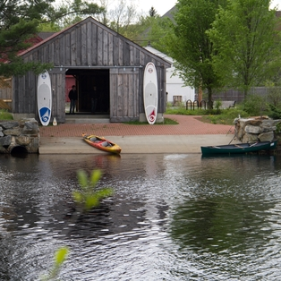 Peak Paddlesports Boathouse