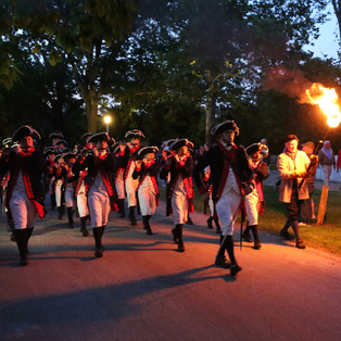 Lexington Fife & Drum Tattoo on the Battle Green