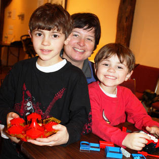 8th Annual Legopalooza Pop-up Lego Studio at the Wenham Museum