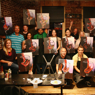 Wicked Art Bar - Paint & Sip Studio