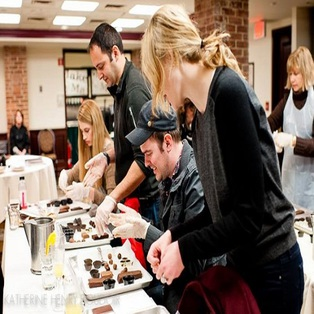 Boston Chocolate School Truffle Making Workshop
