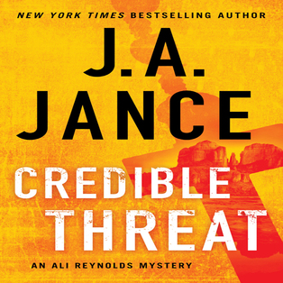 Mystery Author J.A. Jance - Credible Threat (Virtual Event)